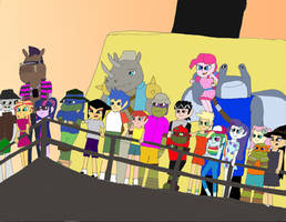 Equestria Ninja Girls Spring Break Down 5 Final by TMNTony