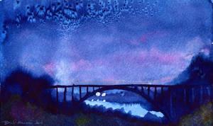 midnight bridge by beckhanson