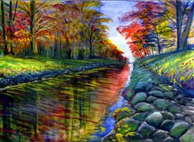 autumn retreat by beckhanson