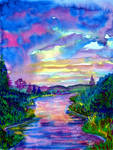 serene stream by beckhanson
