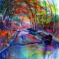 autumn creek by beckhanson