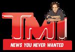 TMI - TMZ Parody Logo by beckhanson
