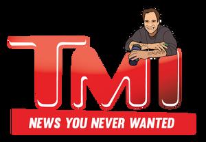 TMI - TMZ Parody Logo
