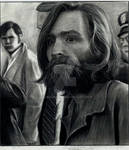 charles manson in court house
