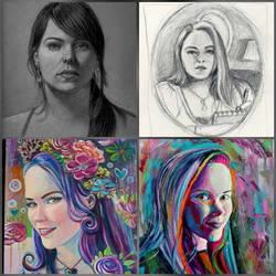 Self Portraits: A Journey through Time