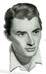 gregory peck by beckhanson
