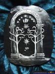 Lord of the Rings Speak Friend Ceramic Display