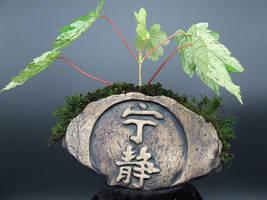 Serenity Firefly Symbol Kusamono Display Pot