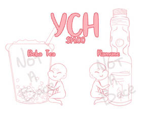 YCH | Ramune and Boba Tea - OPEN