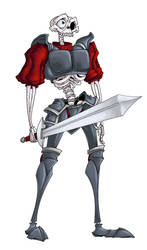 Sir Daniel Fortesque by wildragon