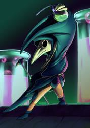 Plague Knight by wildragon