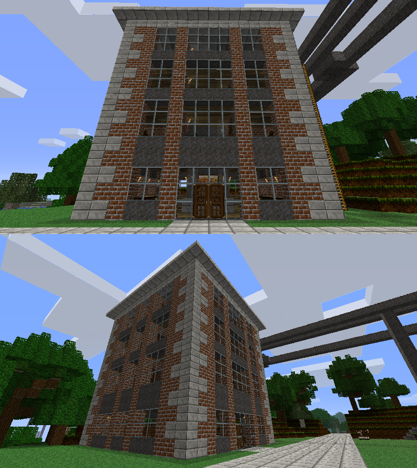 new apartment building outside by CrazyRonn