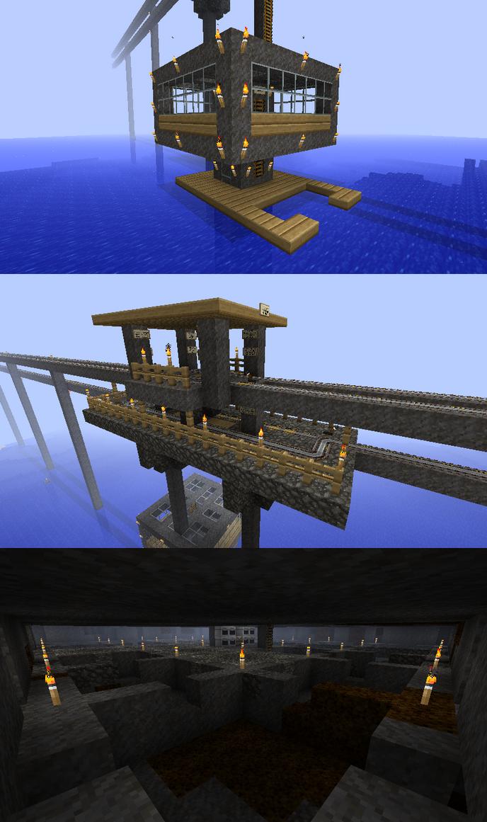 Cobblestone Mining Rig by CrazyRonn