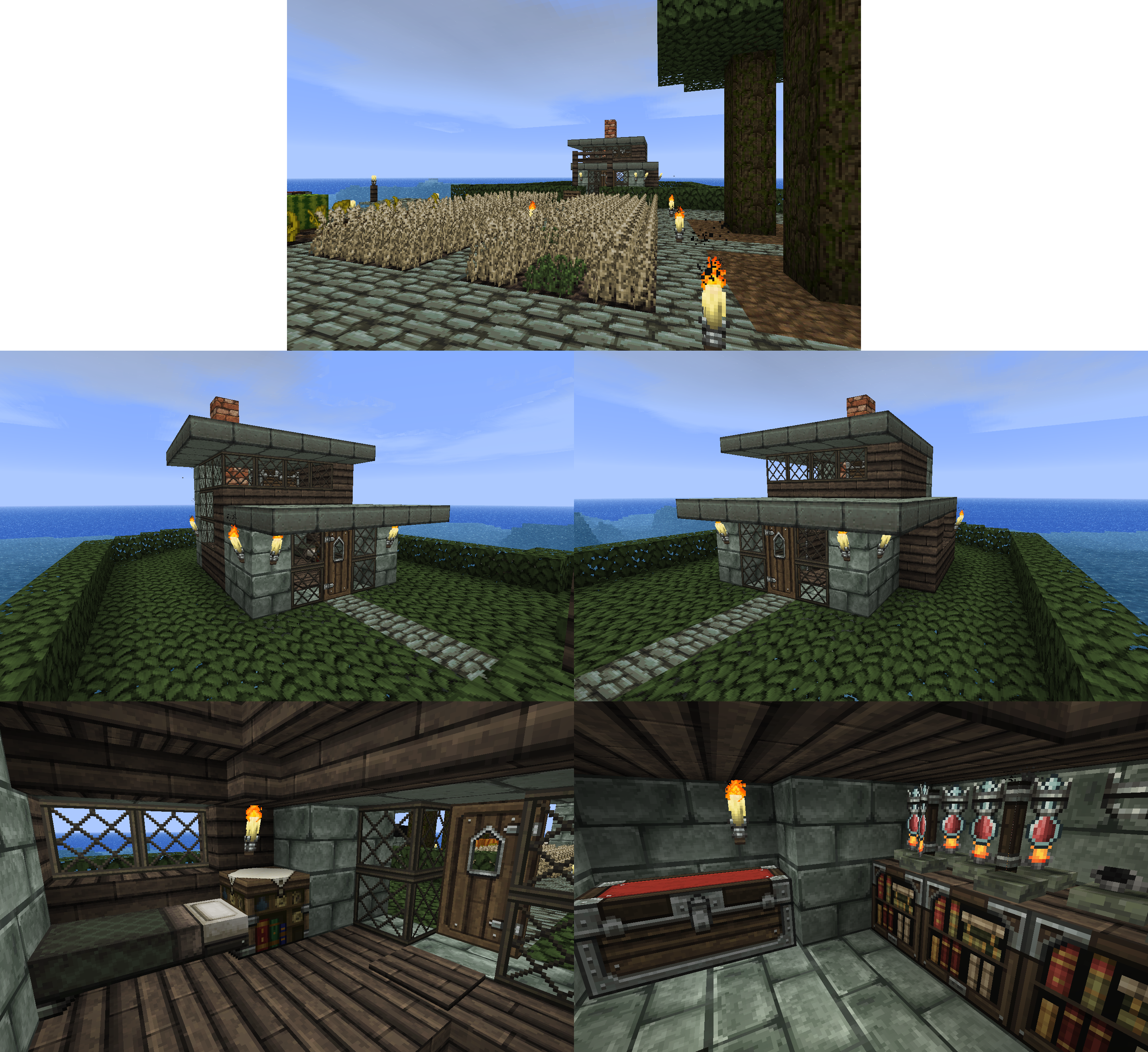 My SMP House :P by CrazyRonn