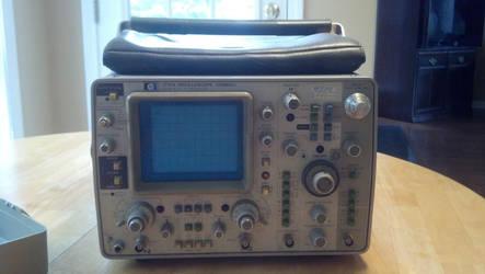 HP 1741a Oscilloscope