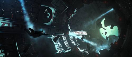 Space Station Archangel by Cereberus8