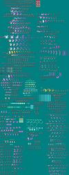 My Omega Zero Sprite Sheet by NightmareZero187