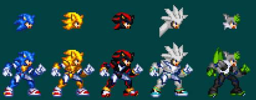 Sonic Biometal Models by NightmareZero187
