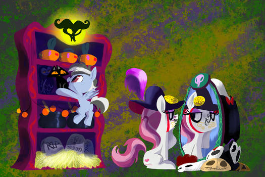 Getting ready for nightmare night!