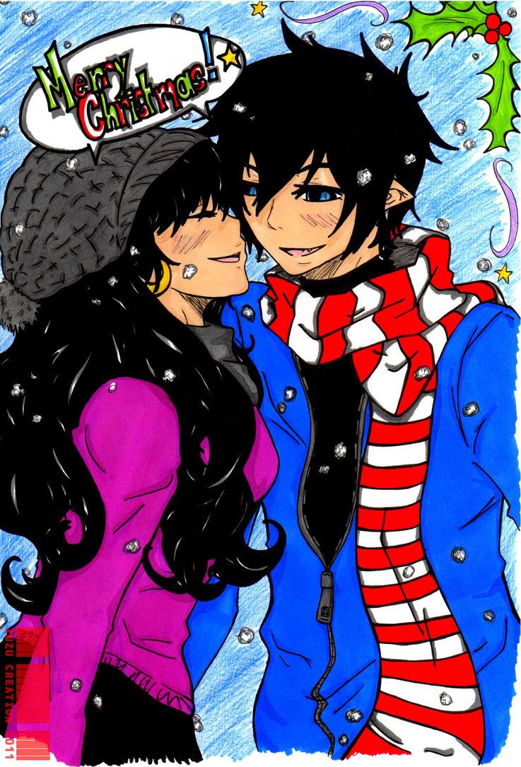 Merry Christmas by Zuzu-Creation on DeviantArt Jay Chou 2012 Wallpaper