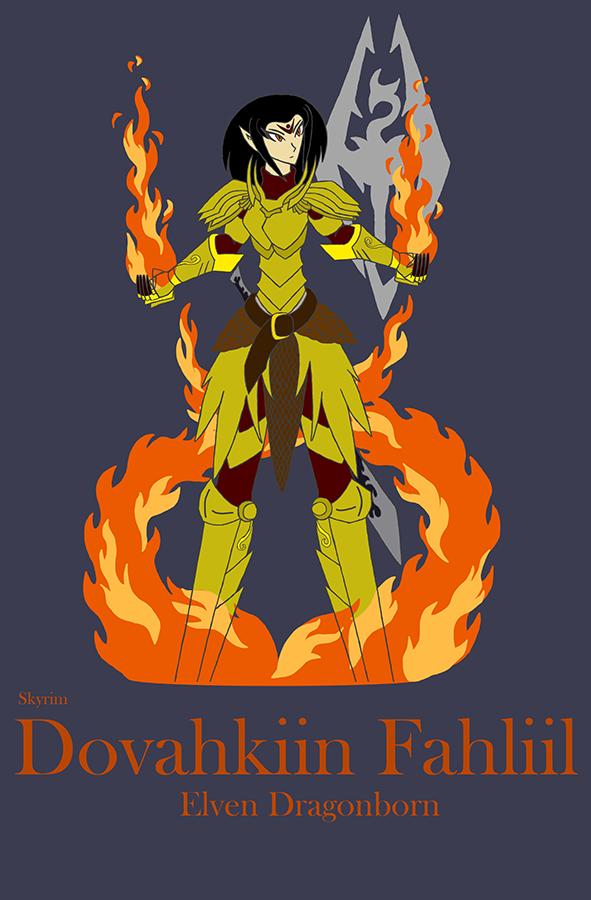Skyrim: Dovahkiin Fahliil Cover by dragongirl117