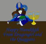 Hanukkah with my Quaggans