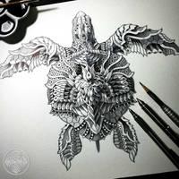 Sea Turtle by BioWorkZ