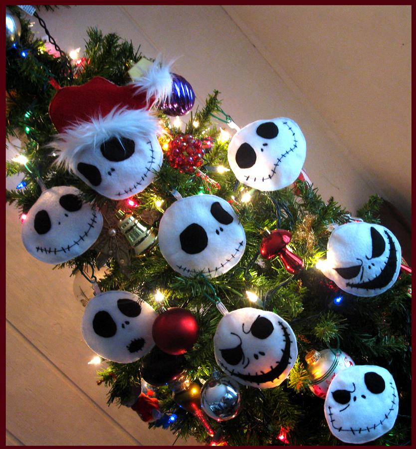 Jack Skellington Christmas Ornament: Jack Skellington Ornaments By OneBadHat On DeviantArt