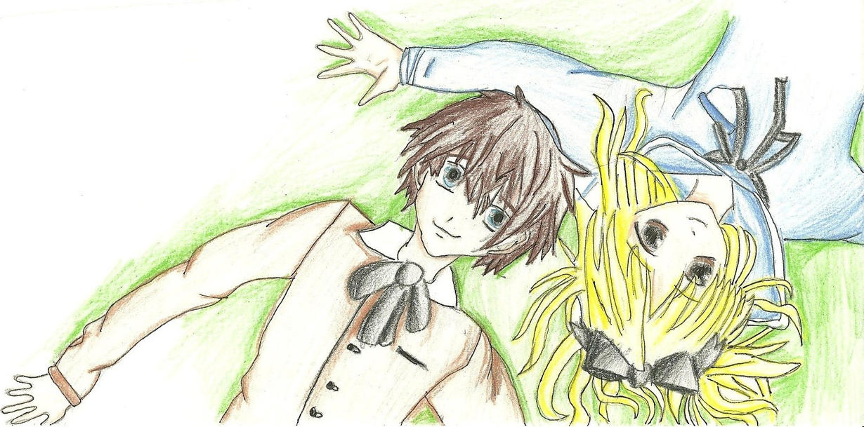 Digory and Polly by ElvenWarrior14