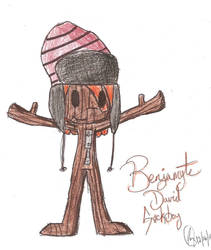 Benjamyte David Sackboy by JazoMcSpazo653086