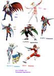 Tatsunoko superheroes