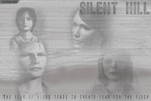 Silent Hill Video Game Poster