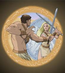Sword Dancer by khazen