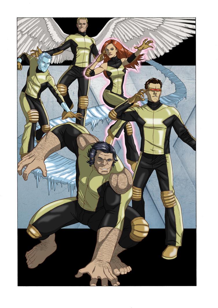 X-Men: First Class by khazen