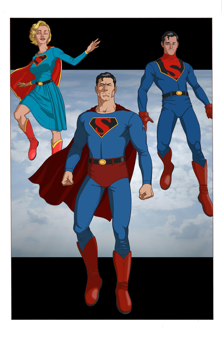 Superman: Man of Tomorrow by khazen