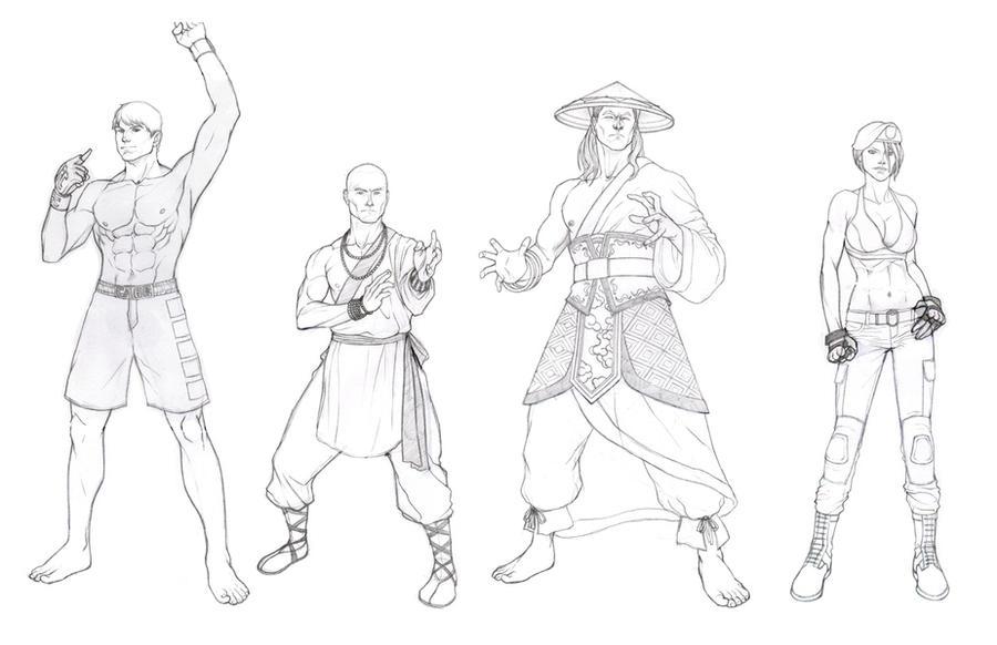 Mortal Kombat Raiden Drawings Mortal Kombat Sketches by