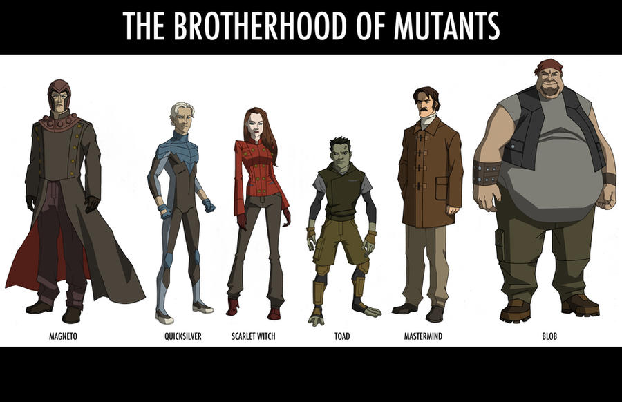 The Brotherhood of Mutants by khazen