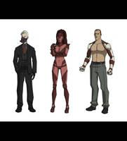 Original Concept (The Villains) by khazen