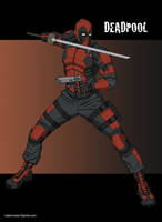 Deadpool by khazen