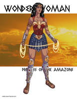 Wonder Woman: Princess of the Amazons! by khazen