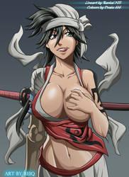 Kukaku Shiba by drake---666