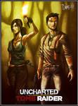 Uncharted X Tomb Raider