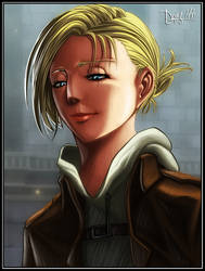 Annie Leonhardt - a smile before the storm by drake---666