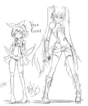 VocaFuture - Sketch