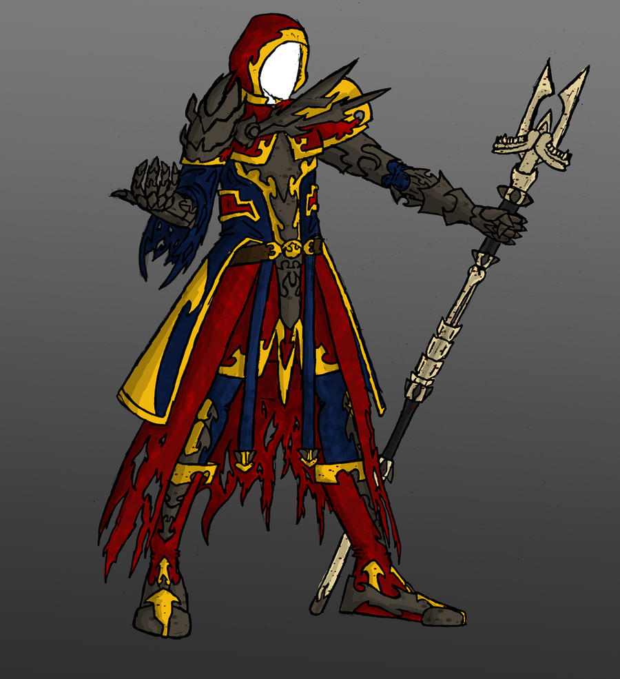 Armour concept - mage robes