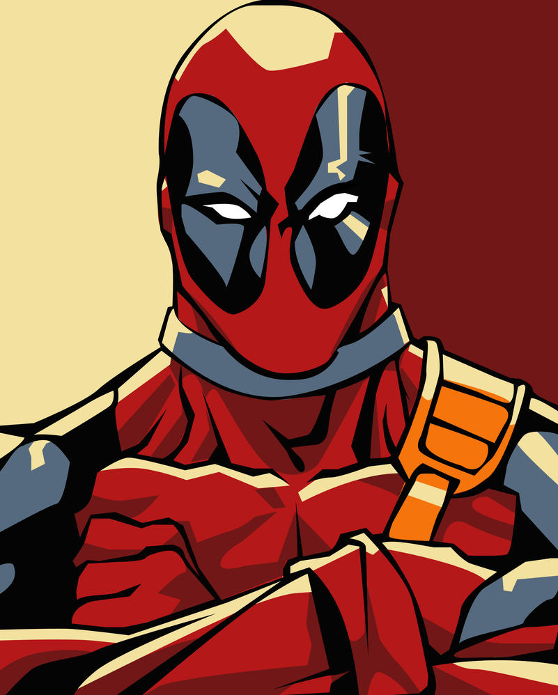 Beautiful Wallpaper Marvel Pop Art - deadpool_pop_art___better_by_iamherecozidraw-d3n9yvg  Perfect Image Reference_425330.jpg