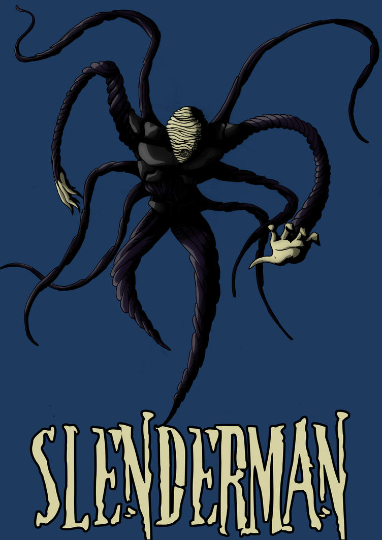 Slender-man final design by iamherecozidraw