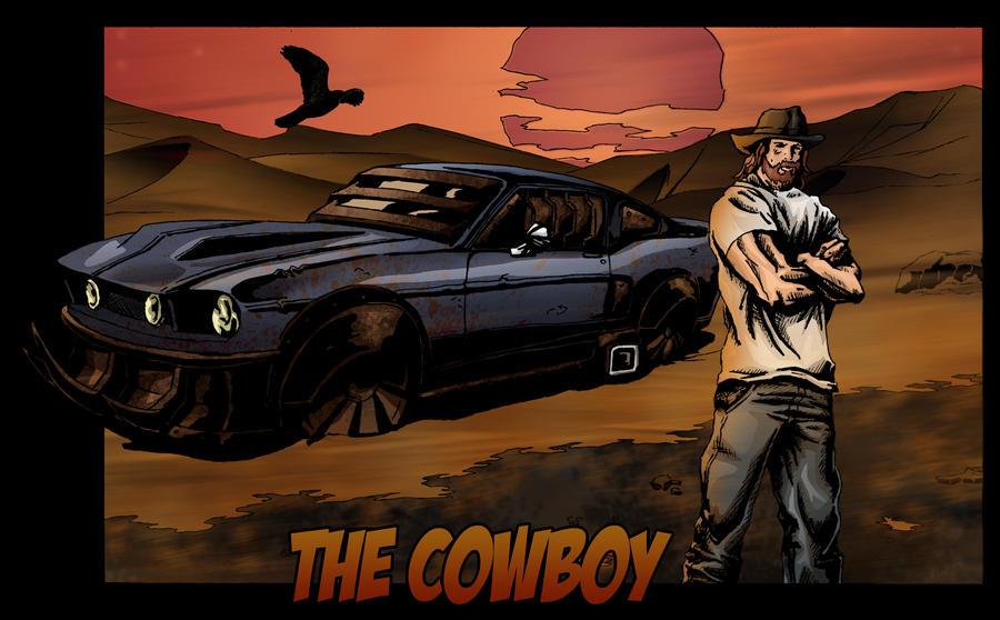 The Cowboy by iamherecozidraw