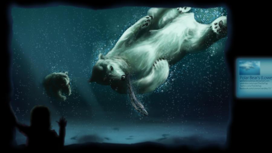 Polar Bears by iamherecozidraw