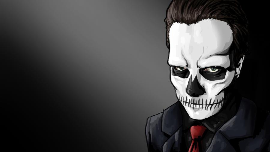 The Skull by iamherecozidraw